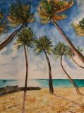 Aquarell-Bottom-Bay-Barbados