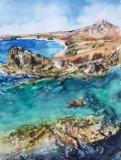 Aquarell Isla Lanzarote