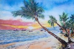 Aquarell_Punta_Cana