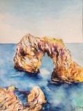 Aquarell_rocas_en_el_mar