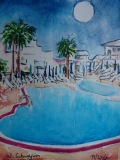 Postkarte_Lanzarote_Village