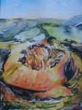 Postkarte_Vulkanlandschaft_Lanzarote