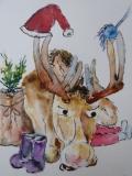 Postkarte_Weihnachtselch