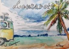 Postkarte-Lanzabus