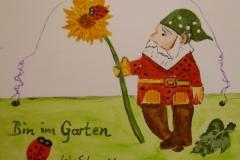 Postkarte_Bin_im_Garten