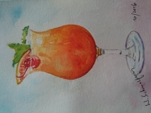 Postkarte_Cocktail_mit_Kirsche