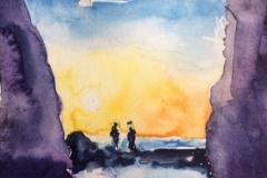 Postkarte_Mallorca_Sonnenuntergang