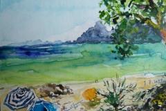 Postkarte_Mallorca_Strand