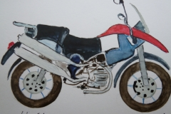 Postkarte_Motorrad