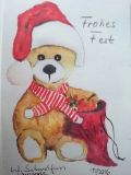 Postkarte_Weihnachtsbaer